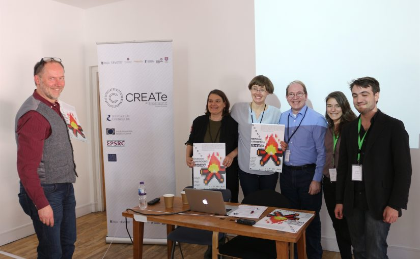 Fabio Neves Da Rocha in winning team at CREATe Pitching Competition