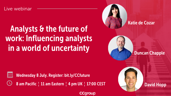 CCgroup webinar Analysts & the future of work