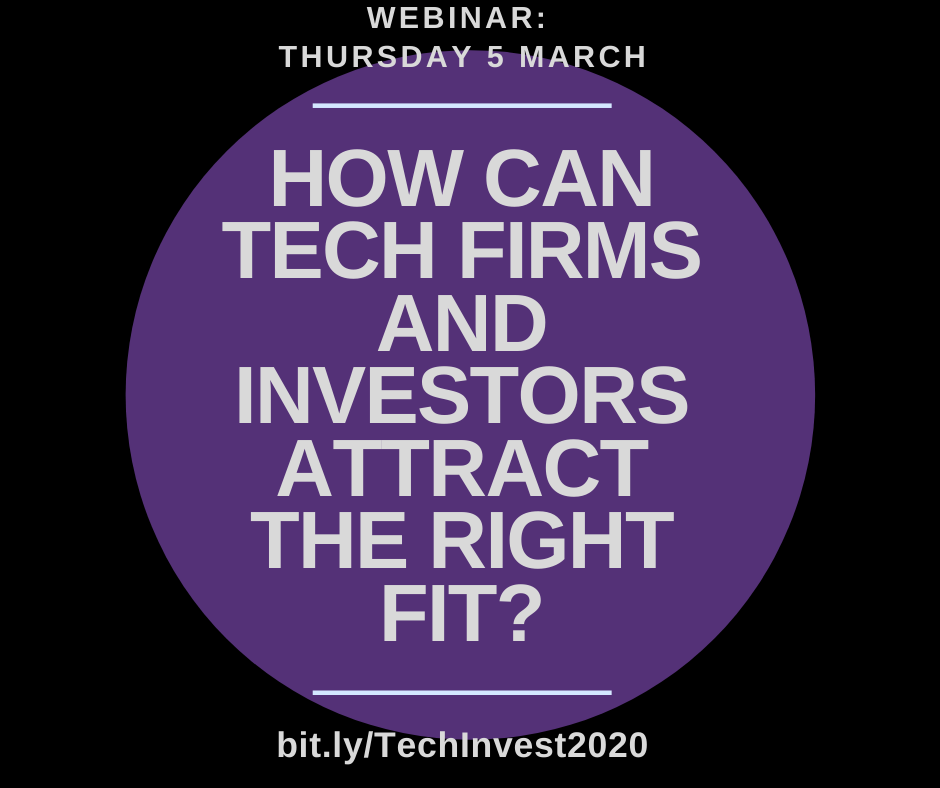 Tech: How firms and investors can attract the right fit?