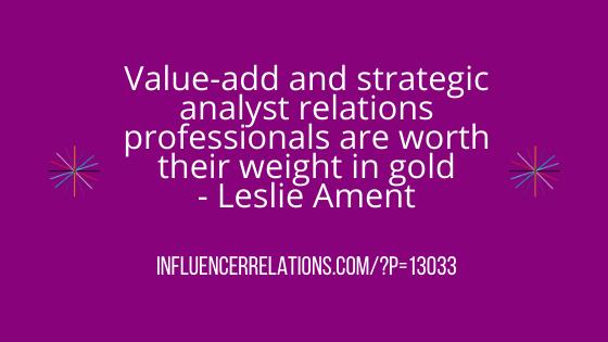 Leslie Ament: