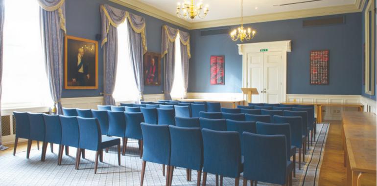 The elegant Council Room