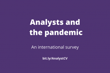 Analysts and the pandemic Survey