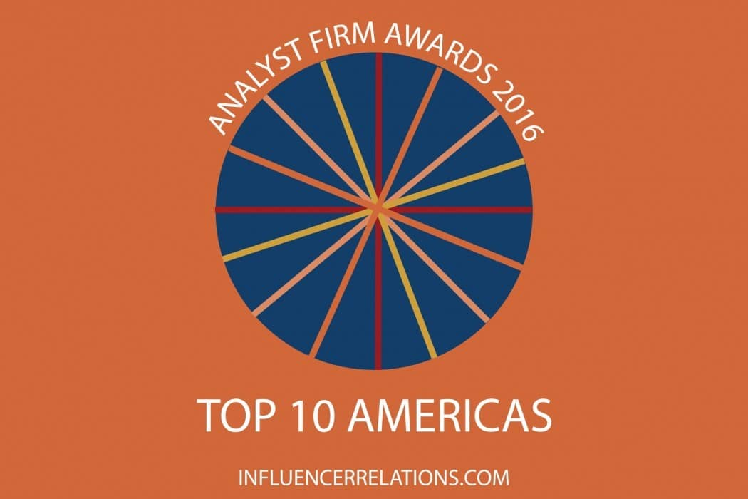 Analyst Firm Awards 2016: Top 10 Americas